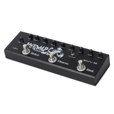 CALINE S6 MULTI EFFECT PEDAL