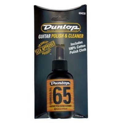 DUNLOP 654C FORMULA 65 W/CLOTH