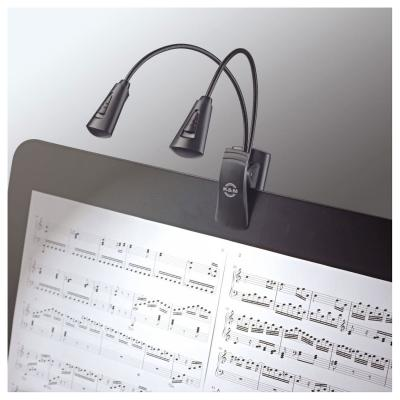 K&M 12244 MUSIC STAND LIGHT