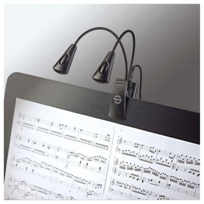 K&M 12245 MUSIC STAND LIGHT