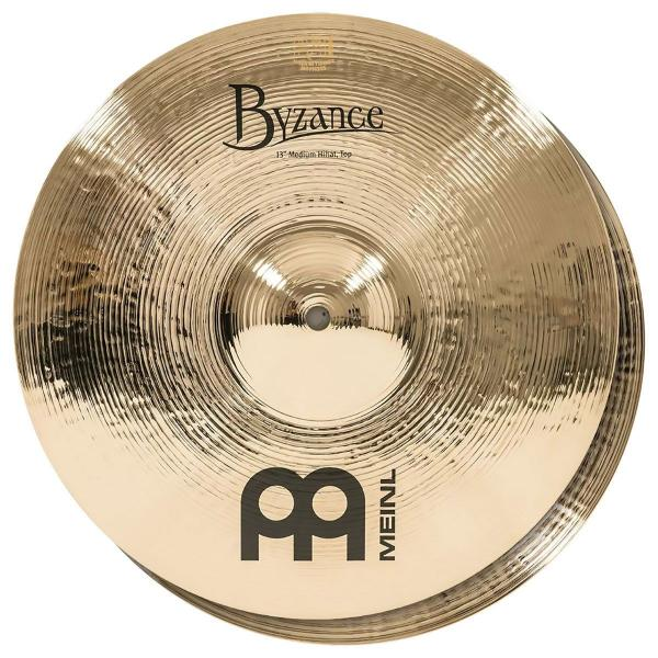 MEINL B13MH-B BYZANCE BRILLIANT HIHAT