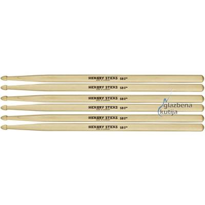 MEINL HS102-3 HICKORY 5B 3-PACK