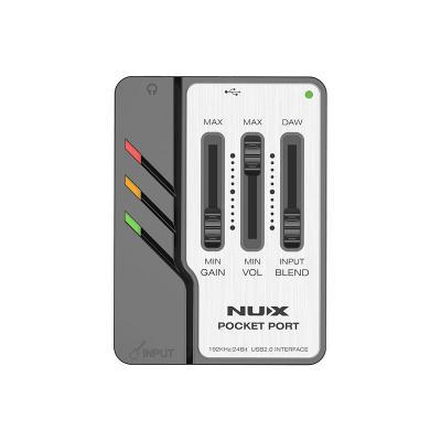 NUX POCKET PORT USB AUDIO INTERFACE